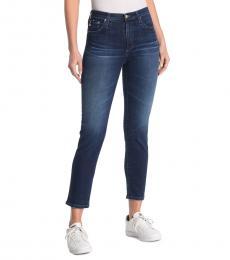 8 Years High Waist Crop Jeans