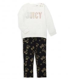 Juicy Couture 2 Piece Top/Leggings Set (Little Girls)