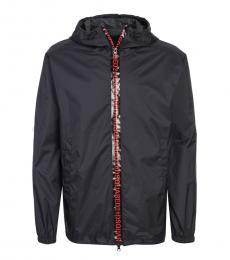 Dsquared2 Black Logo Zip Jacket