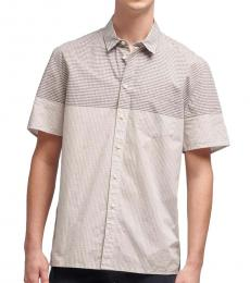 Lunar Rock Blocked Gingham Shirt