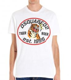 White Tiger Logo T-Shirt