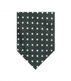 Ralph Lauren Green Polka Dot Tie