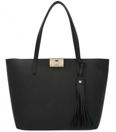 Furla Black Mimi Large Tote