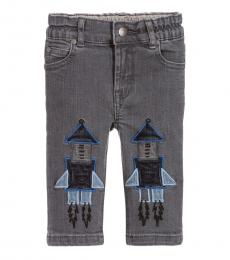 Stella McCartney Baby Boys Grey Rocket Jeans