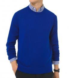 Michael Kors Twilight Blue Merino Sweater