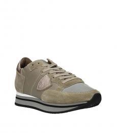Philippe Model Beige Sand Tropez Sneakers