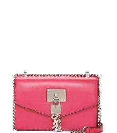 DKNY Electric Pink Elissa Small Shoulder Bag