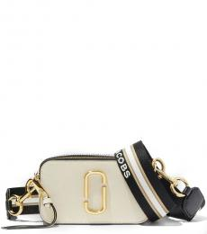 Marc Jacobs New Cloudy White Snapshot Small Crossbody