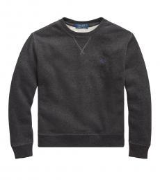 Ralph Lauren Boys Dark Sport Cotton-Blend-Fleece Sweatshirt