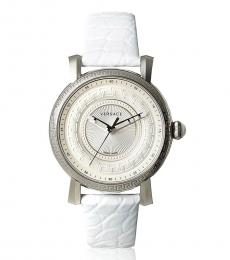 Versace White Day Glam Watch