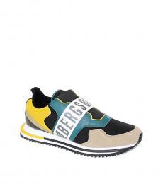 Bikkembergs Black Multi Haled Sneakers