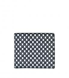 Michael Kors BlackWhite Multi Billfold wallet