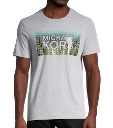 Michael Kors Grey Logo Graphic T-Shirt