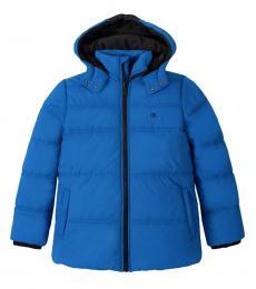 Calvin Klein Boys Blue Puffer Jacket