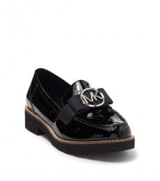 Michael Kors Black Patent Aden Loafers
