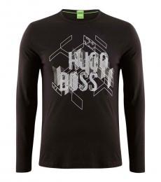 Black Graphic Premium Cotton T-Shirt