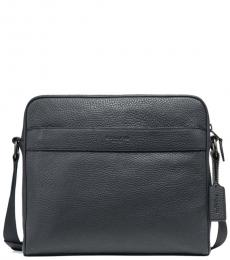 Coach Black Charles Medium Messenger Bag