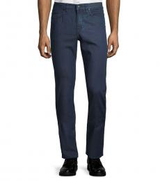 Hugo Boss Navy Slim-Fit Jeans