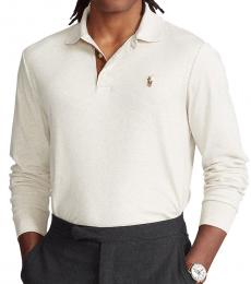Ralph Lauren Off White Classic-Fit Polo