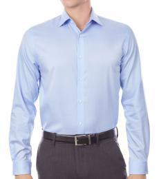 Michael Kors Powder Blue Regular Fit Airsoft Shirt