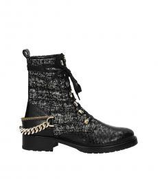 Lanvin Black Back Detail Boots