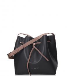 Lancaster Paris Dark Grey Iconic Small Bucket Bag