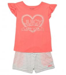 Juicy Couture 2 Piece Top/Shorts Set (Baby Girls)