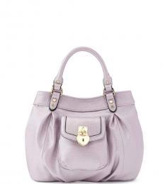 Juicy Couture Light Purple Gloria Medium Satchel