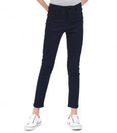 Girls Dark Rinse Skinny Jeans