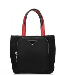 Prada Black Front Pocket Mini Tote