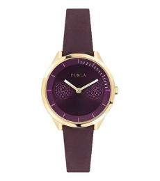 Furla Purple Metropolis Watch