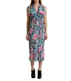 Versace Collection Multi color Sleeveless Sheath Dress