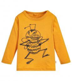 Stella McCartney Baby Boys Yellow Georgie T-Shirt