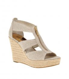 Michael Kors Natural Damita Wedges