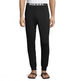 Diesel Black Julio Logo Band Joggers