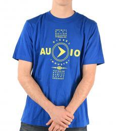 Diesel Royal Blue Printed T-Just T-Shirt