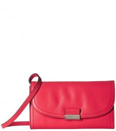 Cole Haan Teaberry Lock Smartphone Small Crossbody
