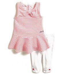 Juicy Couture 2 Piece Dress/Leggings Set (Baby Girls)