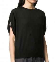Black Crewneck Sweater