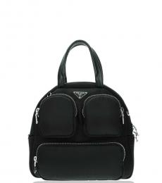 Prada Black Zip Large Satchel