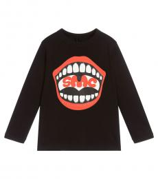 Stella McCartney Boys Black Logo T-Shirt