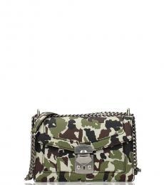 Miu Miu Camo Print Small Shoulder Bag