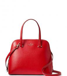 Kate Spade Red Patterson Drive Medium Satchel