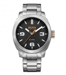Hugo Boss Silver Logo Modish Watch