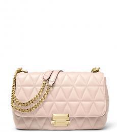Michael Kors Soft Pink Sloan Large Shoulder Bag