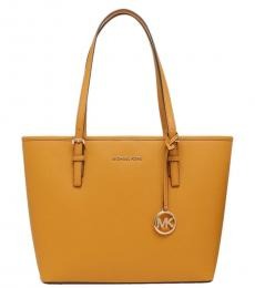 Michael Kors Marigold Jet Set Medium Tote