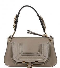 Chloe Grey Marcie Medium Shoulder Bag