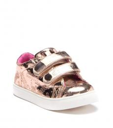 Juicy Couture Baby Girls Rose Gold Livermore Sneakers