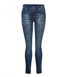 Versace Jeans Blue Skinny Fit Jeans