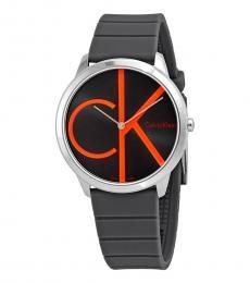 Calvin Klein Black Minimal Watch